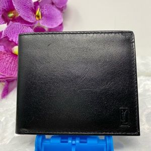 Authentic Preowned YSL Black Men Wallet